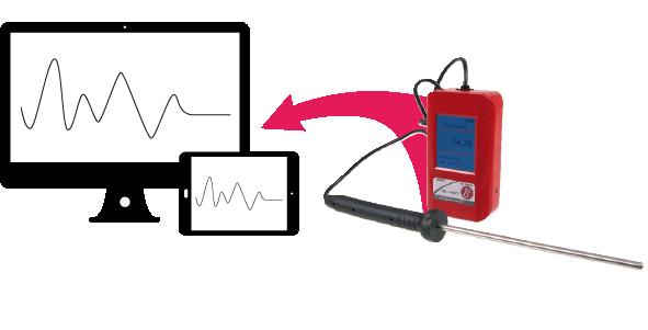 Capteur en enregistrement autonome des mesures