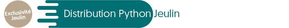 Distribution Python Jeulin