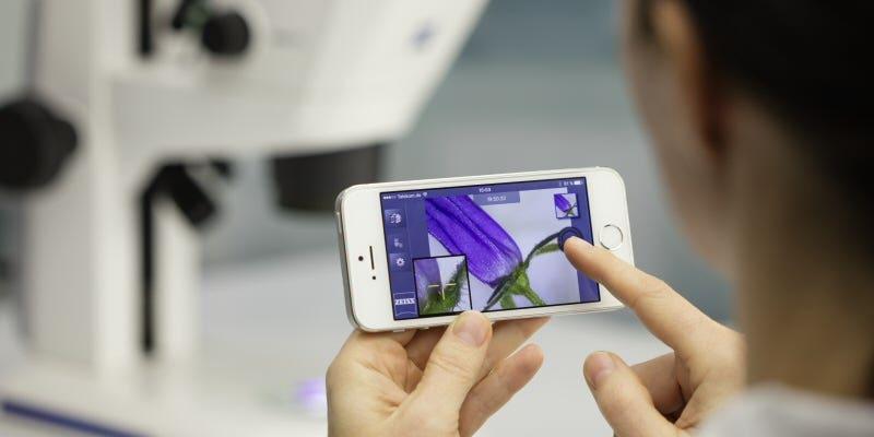 Zeiss - Digital Classroom - Application : Labstore 2