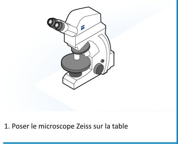 Zeiss - Digital Classroom - Installation : Etape 1